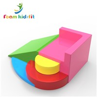 Kindergarten Softzone Factory Price Soft Play Foam Furniture Stool Sofa Blocks with Slide