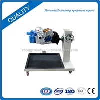 Automotive Transmission Assembly & Disassembly, Vocational Educational Training Equipment of Car Transmission On the r