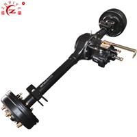 Three-Wheel Motorcycle Booster Rear Axle with Mechanical Drum Brake for Loader Tricycle
