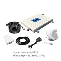 900 2100 2600 Mhz Tri Band 2g 3G 4g Lte Mobile Phone Signal Booster with Outdoor Indoor Antenna
