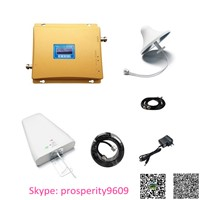 GSM 900mhz + Wcdma 2100mhz Dual Band 2g 3G Mobile Cellphone Signal Booster Repeater