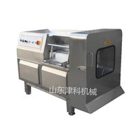 Meat Cuber Machine for Cutting Frozen Meat into Small Pieces, Automatic Meat Cutting Machine