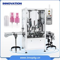 Automatic Shampoo Liquid Body Wash Cream Filling Capping Machine