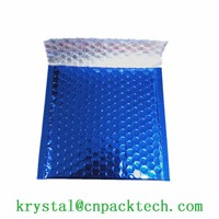 Custom Printed Color Thermal Insulation Aluminum Foil Bag Bubble Envelope Poly Mailer