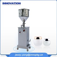 Semi Auto Cosmetic Cream Filling Machine