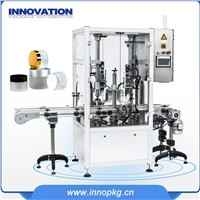 Full Automatic Cream Jar Filling Capping Machine