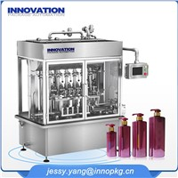 Multi Lane Shampoo Filling Machine with PLC Control System
