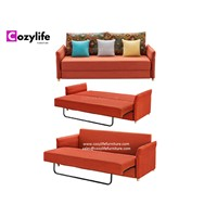 Modern Design Convertible 2 Seater Pull Out Sofa Bed