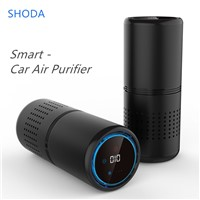 Smart Car Air Purifier Mini Cup Shape Hepa Filter Air Cleaner Anion PM2.5 Remove Formaldehye For Car Hotal Kids