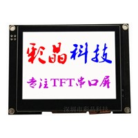 HMI Industrial Serial Port 3.5 Inch 320x240 Pixel TFT LCD Display Module Support RS232 RS485 TTL USB with RTP/ CTP