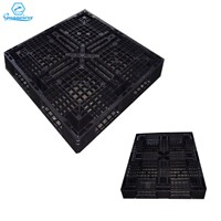 Heavy Duty Large Stackable Single Side Face HDPE Warehouse Plastic Pallet