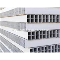 Underground PVC Porous Pipe/PVC Multi Hole Pipe Tube/Electric Casing PVC