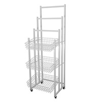 Supermarket Convenient Store Promotion Metal Display Basket Stand Shop Promotion Rack Umbrella Stand