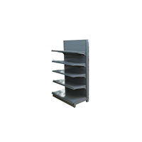 Supermarket Heavy Duty Single Sided Display Shelf Rack Gondola Expositor De Metal