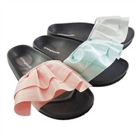 Slippers, Cloth Upper & MD Outsole, Comfortable Fitting & Suit For Pastime Activities.