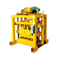 Small Concrete Qtj4-40B2 Hollow Block Machine Price In Bangladesh