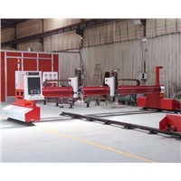 Gantry Steel Cutting Machine China CNC Plasma Cutter Price for Sale
