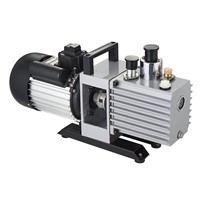 12/10cfm 1HP 0.3PA Micro Double Stages Rotary Vane Air Vacuum Pump