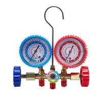 R134a Manifold Gauge with Electric Vacuum Pumps