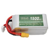 100C Model Aircraft Batteries Lithium Ion Rechargeable Battery 1500Mah for RC Devices