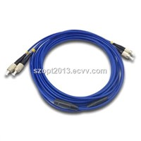 Fiber Patchcord FC-FC Singlemode Duplex In Armoured Cable