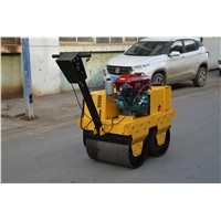 Small Double Drum Roller Small Vibratory Tamping Roller Tandem Road Roller for Sale