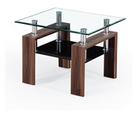 Modern Style Center Table, Modern Italian Design, Material of Tempered Glass with Painting Leg