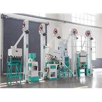 Complete Rice Milling Equipment/Rice Mill Production Line for Sale