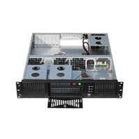 "2U Server Case Support Motherboard Size Up to 12""*10.5"", & 6*3.5""HDD Bays, 1*3.5""HDD, 1*5.25""CD-ROM"