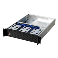 "2U Server Case 2U Industrial Chassis Support Motherboard Size Up to 12""*13"", And4*3.5""HDD Bays, 8*2.5""HDD/SSD, 1U Power Sup"