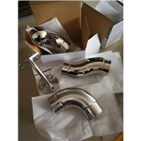 Flooring Handrail Accessories-Stainless Steel Brackets, Elbows