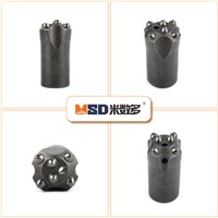 32mm Tapered Button Drill Bit for Hard Rock Drilling & Blasting