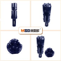 CIR110 Drilling Tools Symmetric Drill Bits with Casing Tube for Water Well Drilling