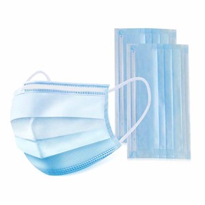 Disposable Surgical Face Mask Disposable Earloop Medical Face Mask Non-Woven Protective Antiviral