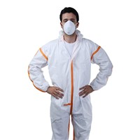 Disposable Medical Protective Equipment Disposable Protective Suit Breathable Coveralls Clothing Hoodie Overall Surgical