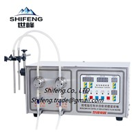 SF-2-2 Small Commercial Semi Automatic Oil / Perfume / Bear Filling Machine with Double Nozzles