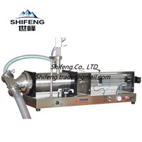SFGY Explosion-Proof Type Full Pneumatic Semi-Automatic Liquid / Drinks / Oil Filling Machine Series