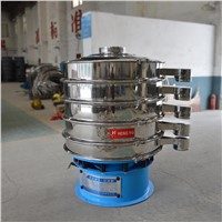 Automatic Stainless Steel Separator Wet Liquid Round Vibrating Sieve Shaker Machine Manufacturers