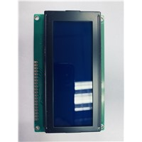 19264-7 192x62 Graphic LCD Display COB Type LCD Module DISPLAY IC: KS0107. STN-BLUE, 3.3Vor 5v