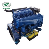Machinery+Engines 4 Cylinder 912 Deutz Engine for Construction & Generator with Automatic Instrument Panel
