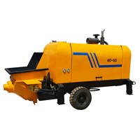 High Performance Diesel Concrete Pump, Portable Concrete Pump For Sale