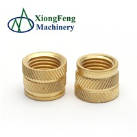 Made in China Plastic Threaded Molded-In Weld In Brass Female Threaded Insert