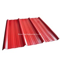 Box Profiled Trapezoidal Prepainted Galvalume Roofing Sheet