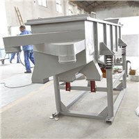 Large Capacity Suppliers Fertilizer Horizontal Linear Vibrating Screen Sieve Shaker Machine Manufacturer