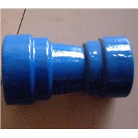 Dutile Iron Fittings T-Type Reducer with Epoxy Coating