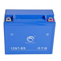 Guangdong Kejian Factory Price GEL 12N7B-BS 12v7ah MF Motorcycle Battery