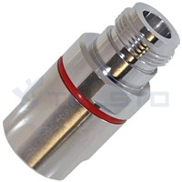 N Female Connector for 1/2'' Flexible RF Cable RF Coaxial Connector