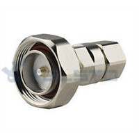 DIN Male Connector for 1/2'' Superflexible RF Cable RF Coaxial Connector