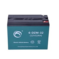 Guangdong Kejian Rechargeable 6-DZM-32 12V32Ah Electrical Vehicel Lead Acid Battery