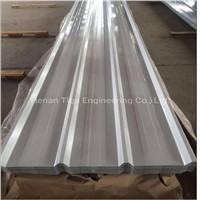 New 0.65mm High Quality Trapezoidal Steel Roofing Sheets with Felt